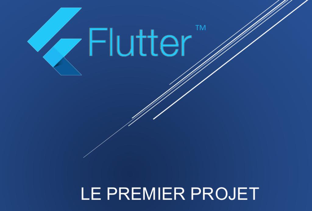 Formation flutter : le premier projet